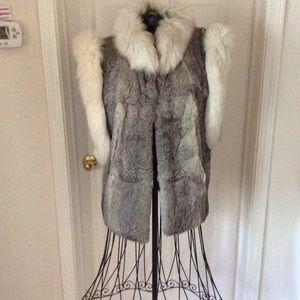 Beautiful, beautiful Fur Vest .